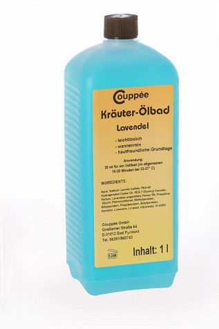 Lavendel Ölbad